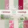 Christmas Greetings - 12x12 - Блокче двустранни фонови дизайнерс