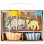 MeriMeri - Комплект за мъфини - Сафари животни