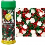 Wilton - Захарни декорации - Коледен снежинки микс - 110 гр