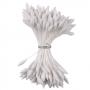 Комплект тичинки за цветя - Бели, продълговати - 72 бр