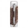 Двустранна декорираща писалка - Тъмен шоколад
