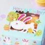 Комплект кутии - Великденско зайче - 2 бр
