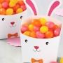 Комплект кутии - Великденско зайче - 4 бр