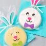 Комплект торбички и стикери - Великденско зайче - 12 бр