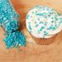 Захарни конфети - Металик синьо - 70 гр