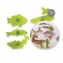 Комплект резци и щампи - Риби - 4 бр