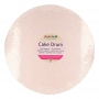 Подложка за торта - Розово злато - Кръг -1.2 х 30.5 см