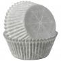 Хартиени форми за мъфини - Снежни изкушения - 75 бр
