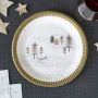 Парти чинии - Nordic Christmas - Полярна Коледа