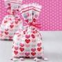 Комплект торбички - Сърдечни пожелания - 20 бр