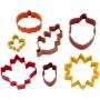 Комплект метални цветни резци - Есен - 7 бр