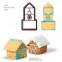 Резец - Мини 3D къщичка