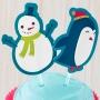 Декорации за мъфини и торти - Wilton - Снежко и приятели
