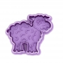 Резец и щампа с бутало - Агънце / Овца