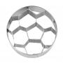 Метален резец - Футболна топка - 6 см