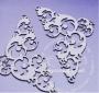 Елементи от бирен картон - ЗАВИНАГИ - Ъглови орнаменти, чифт
