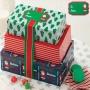 Комплект кутии - Дядо Коледа - 3 бр