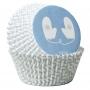 Хартиени форми за мъфини - Топли пожелания - 75 бр