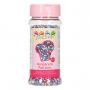 Захарни гранули за поръсване - Трицветни - 80 гр