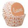 Хартиени форми за мини мъфини - Otterly in Love - 100 бр