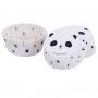 Хартиени форми за мъфини - Панда - 50 бр