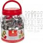Комплект метални резци - Коледа - 40 бр