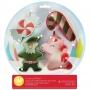 Комплект метални цветни резци - Снежен глобус - 4 бр