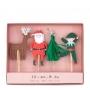 Декорации за мъфини и торти - MeriMeri - Веселият Дядо Коледа