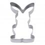 Метален резец - Седящо зайче - 7 см