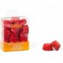 Хартиени форми за бонбони - Червени - 200 бр