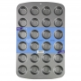 Форма за мини мъфини с незалепващо покритие -  24 бр