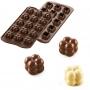 Силиконов молд за бонбони - 3D Choco Game