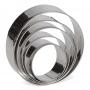 Комплект метални резци - Кръгове - 5 бр