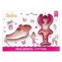 Комплект резци - Балетна обувка и Балерина - 2 бр
