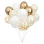 Парти сет балони - MeriMeri - Златни балони