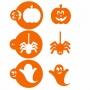 Комплект шаблони - Хелоуин герои - 3 бр