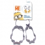 Disney - Комплект метални резци - Миньони - 2 бр