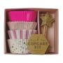 MeriMeri - Комплект за мъфини - Розово парти