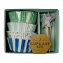 MeriMeri - Toot Sweet Blue Cupcake Kit
