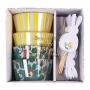 MeriMeri - Комплект за мъфини - Liberty Spring - Пролетно зайче