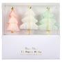 MeriMeri - Декорации за мъфини и торти -  3D Коледни елхи