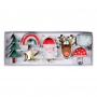MeriMeri - Комплект метални резци - Веселият Дядо Коледа