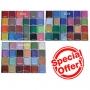 Petal Crafts - Комплект прахови бои - PALETTE PETAL DUST - 72 бр