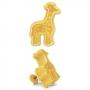 Резец и щампа с бутало - жираф
