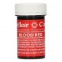 Sugarflair - Концентрирана гел боя - Кърваво червено - 25 гр
