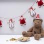 Парти 3D гирлянд - Santa & Friends - Дядо Коледа и приятели