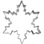 Метален резец - Снежинка - 9.5 см