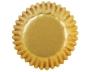Чашки за бонбони - Златно фолио - 75 бр
