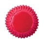 Чашки за бонбони - Ярко розово фолио - 75 бр