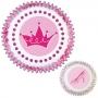Хартиени форми за мъфини и кексчета - Принцеса - 75 бр
